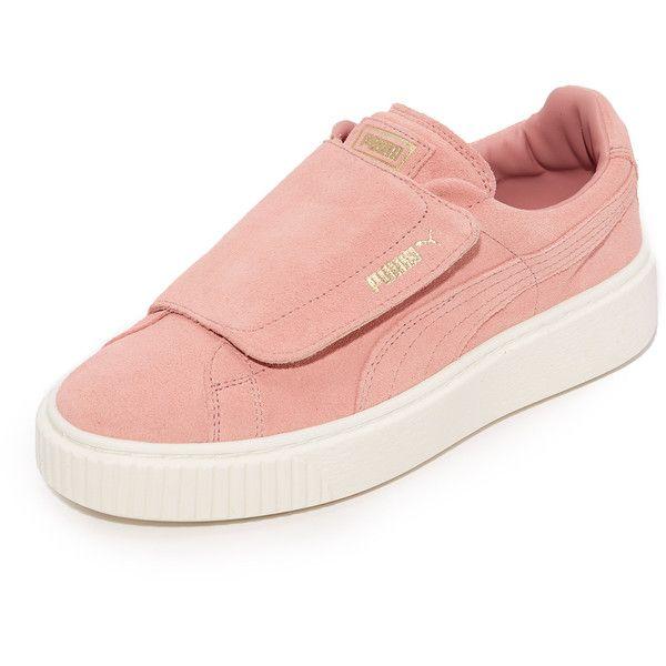 best service 58726 dec84 PUMA Basket Platform Bigvelc Sneakers ($110) ❤ liked on ...