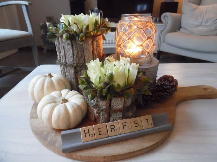 17 beste idee n over herfst decoraties op pinterest for Woondecoratie vensterbank