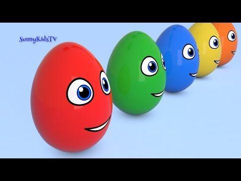 Renkleri Topları, İngilizce Renkler Video Komik, Çocuklar ve Bebekler için - YouTube