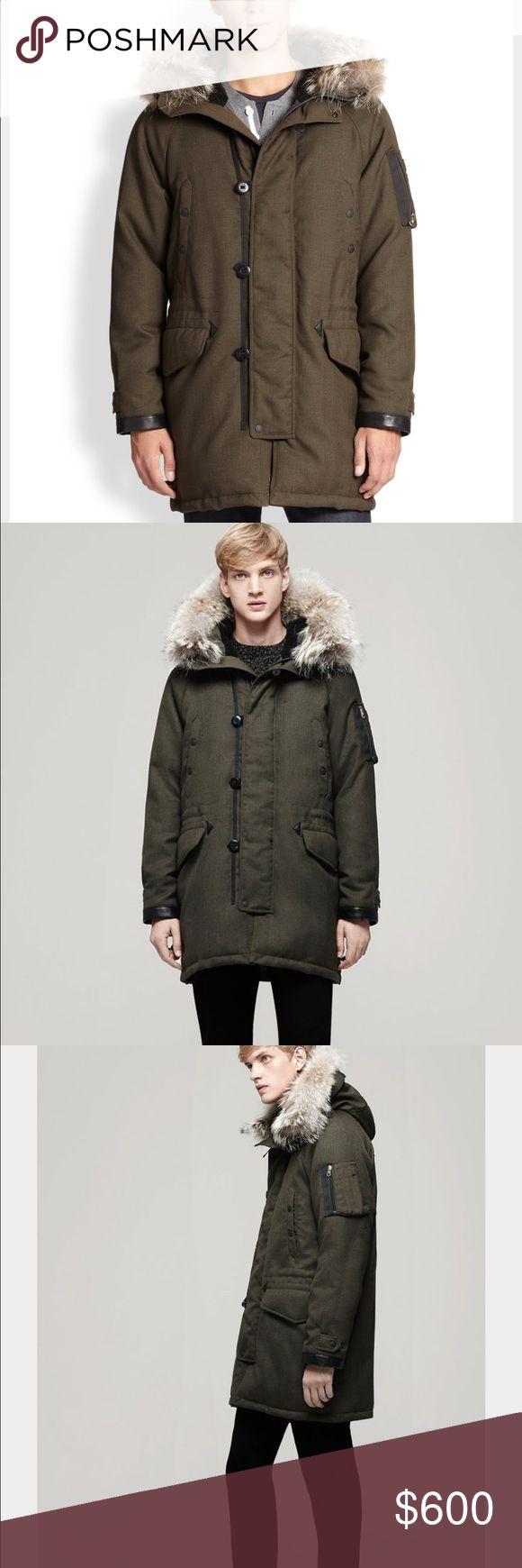 Rag and bone olive Arctic parka Men's coat rag & bone Jackets & Coats