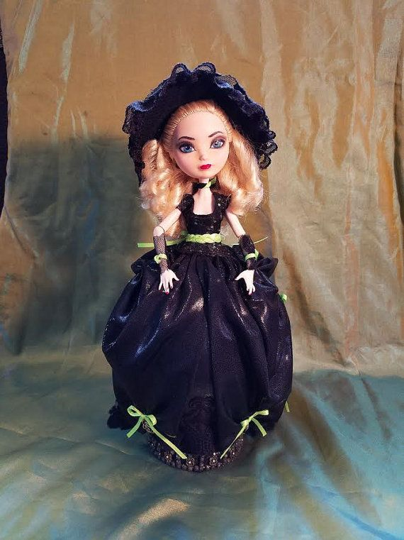 """So Bewitched, is a One of a Kind 12"""" Ostrich Egg Collectable Doll"""