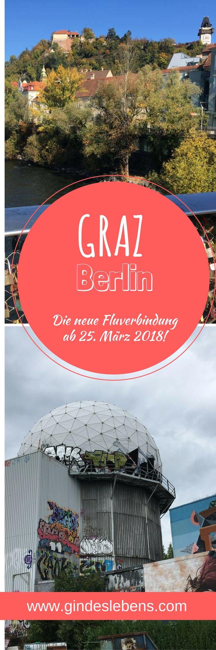 Graz Berlin die neue Flugverbindung ab 25. März 2018! Im Juni letzten Jahres saß der Schock bei Vielreisenden und Geschäftsleuten tief, als die bereits damals angeschlagene Fluglinie AirBerlin den sehr gut frequentierten Direktflug von Graz nach Berlin eingestellt hat. Ab 25. März 2018 gibt es eine neue Verbindung. Wir verraten euch was der Graz-Berlin Flug kostet und welche Flugzeiten er hat! #Graz #Berlin #Flug www.gindeslebens.com