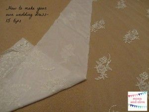 Nice how to make your own wedding dress