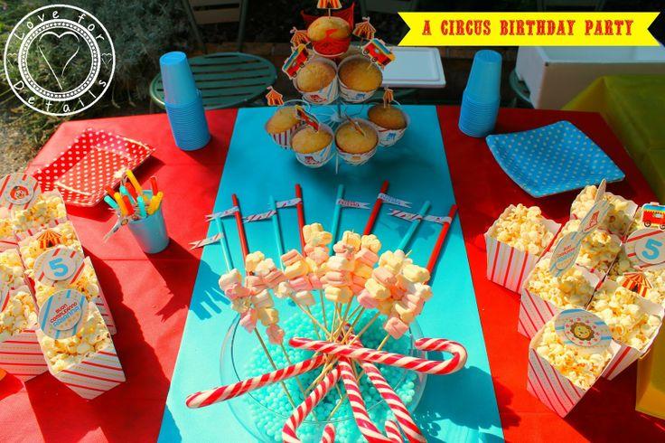 FESTA DI COMPLEANNO A TEMA CIRCO - A CIRCUS BIRTHDAY PARTY