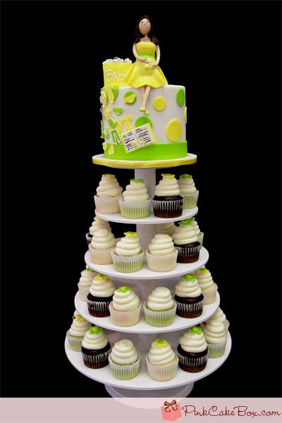 Baby Shopping Tree.....(She has a baby bump ahhh)Cupcakes Towers Baby Shower, Baby Shower Cupcakes, Bump Ahhh, Baby Bump, Baby Shops, Shops Baby, Bridal Shower, Cupcakes Trees, Baby Shower Cake