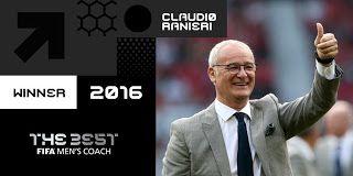Blog Esportivo do Suíço:  Campeão do Inglês com o Leicester, Ranieri é eleito melhor treinador de 2016