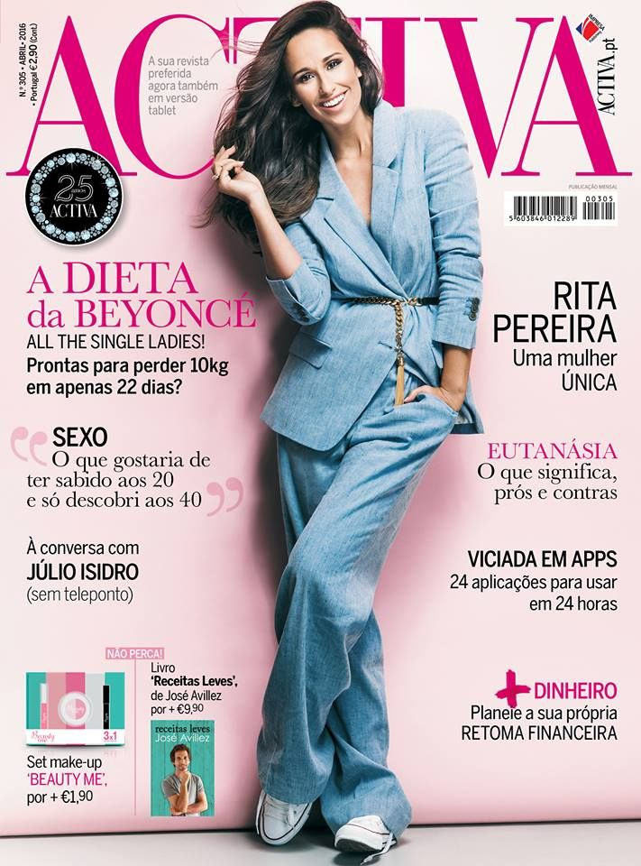 Beauty Mags: Rita Pereira | Activa Portugal Abril 2016