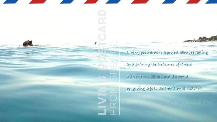Living PostCards from Greece | Deep Blue HD