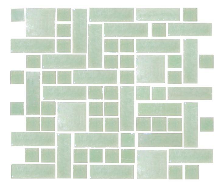 jadeite mosaic tiles tile backsplash