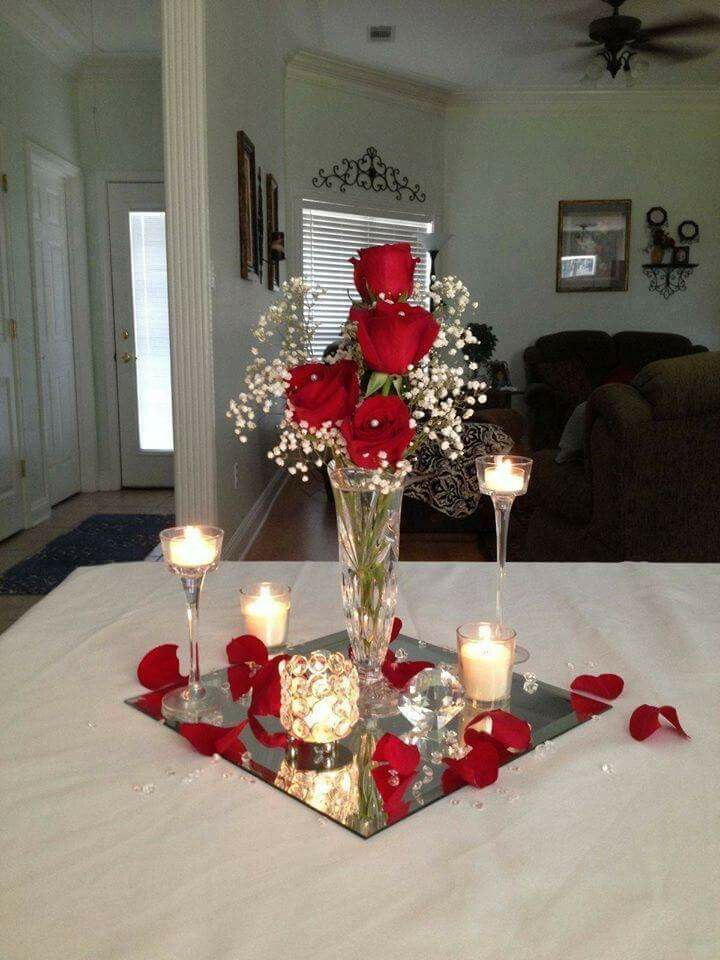 Valentine Centerpiece On A Budget