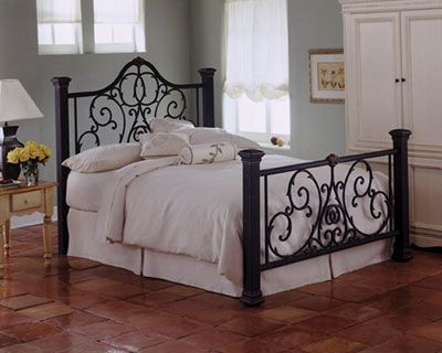 21 best images about Antique wrought iron beds on Pinterest