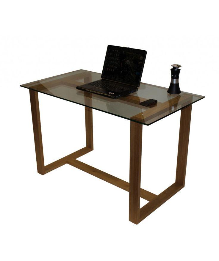Franklin Oak Square Leg Home Office Desk
