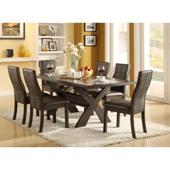 costco xenia 7 piece dining set dining room makeover