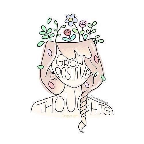 Grow positive thoughts. #positivitynote #upliftingyourspirit