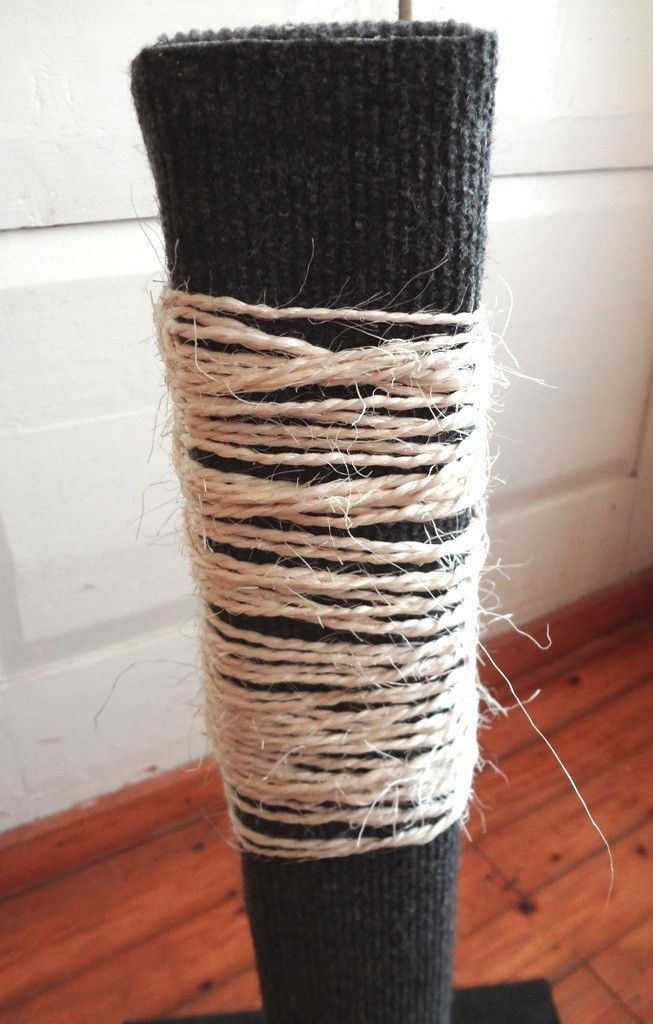 Cat Scratching Post  •  Make a scratching post in under 165 minutes