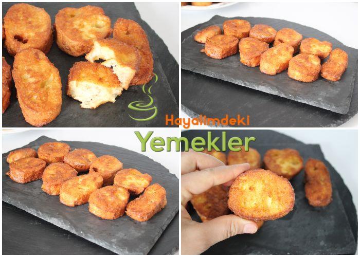 peynirli yumurtalı ekmek