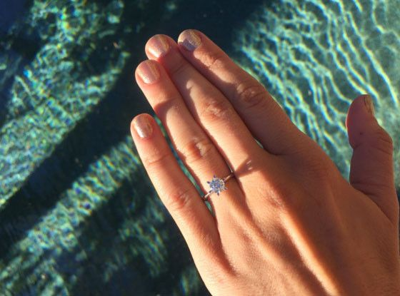 Audrina Patridge Shows Off Gorgeous Engagement Ring After Saying Yes to Corey Bohan | E! Online Mobile