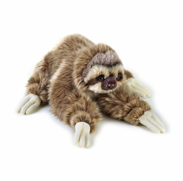 Three Toed Sloth Soft Plush Toy National Geographic