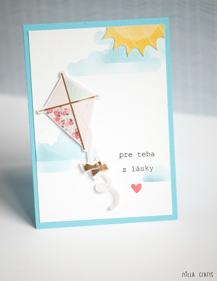 Pre teba z lasky | Just for you from love #cardmaking #cratepaper #poolside