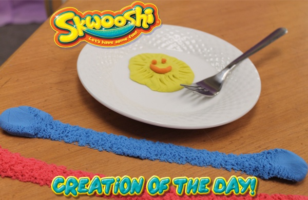 Skwooshi Creation of the Day #playwithyourfood #foodart #mold #sculpture #sculpt #play #toys #food #skwooshi  Join the fun on Facebook for exclusive giveaways https://www.facebook.com/Skwooshi