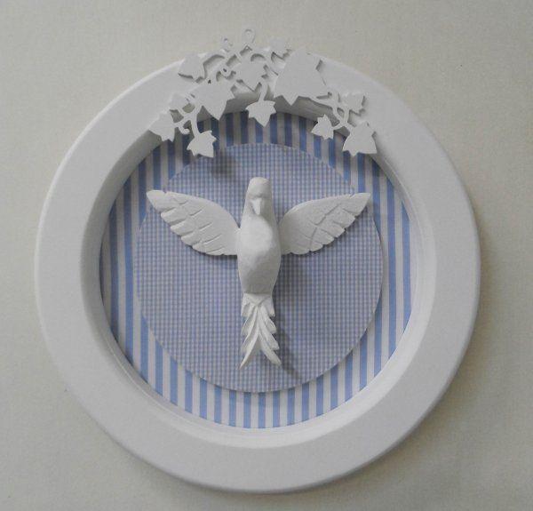 CIA DAS ARTES - Quadro Espírito Santo Azul