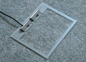 Pin by FBS Floor Box Systems on Gray floor box cover | Flooring, Floor outlets, Grey flooring