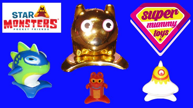 Star Monsters Blister Pack and Bag with Ultra Rare Gold Star Monster. This video features the new Star Monsters Pocket Friends from Magic Box Toys (Magic Box Int), the people who brought us Zomlings!