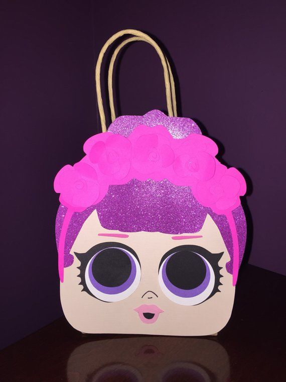 Lol Surprise Doll Inspired Party Favor Gift Bags Birthday Goodie