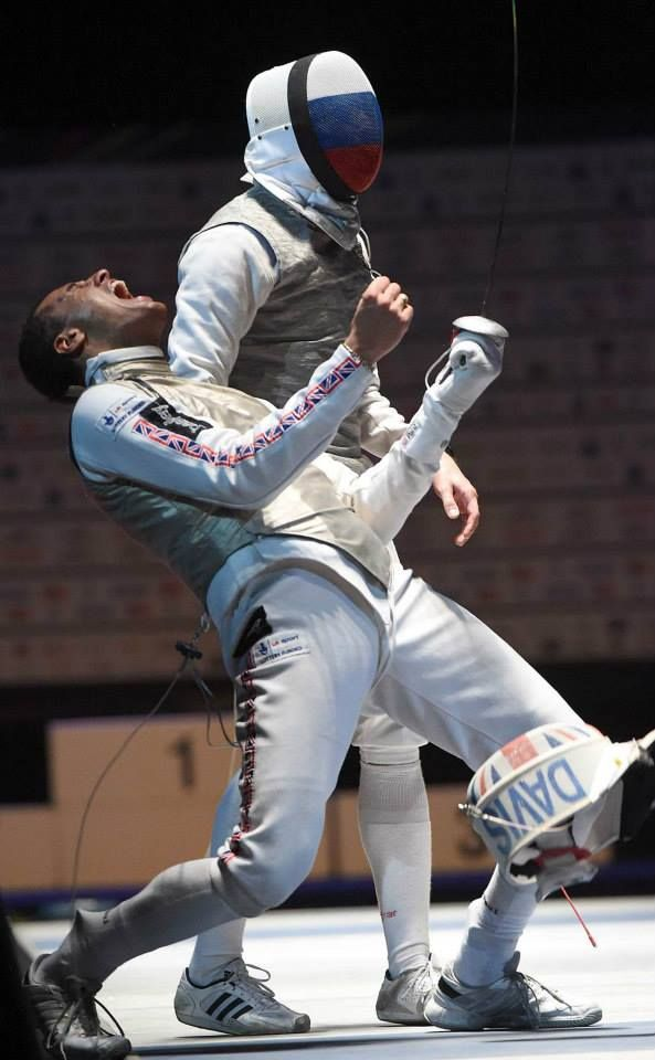 Former Salle Paul fencer, James Davis (22) fenced his way to Great Britain's first ever* European Championships fencing title yesterday in Strasbourg, France.