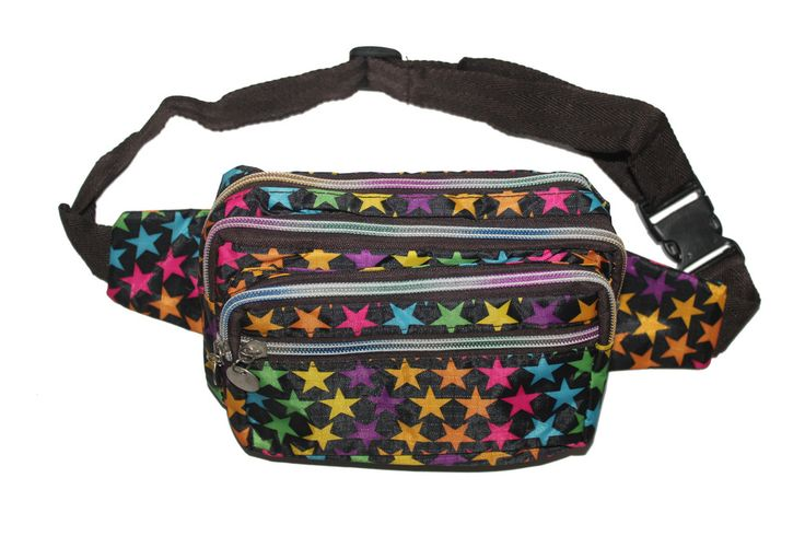 Stars BummyFeel high up in the sky whilst your dancing with your Stars Bummy! Featuring 4 pockets for maximum sparkle this festival bumbag is a must for your bummy collection.