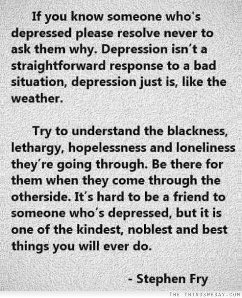 Beating Depression Quotes About Tattoos Quotesgram: If You Know Someone Who's Depressed Please Resolve Never