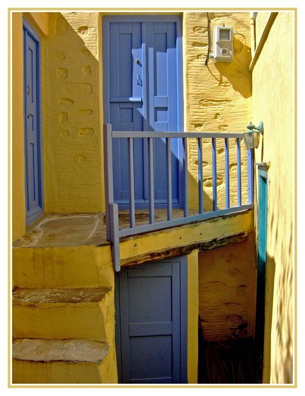 Cycladic Courtyard-2 - Syros-Ermoupoli, Kyklades