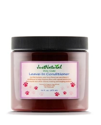 Just Natural Organic Hair Care Leave In Conditioner
