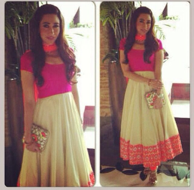 Pretty and simple combo! - Shweta Rao. Get this made in ...