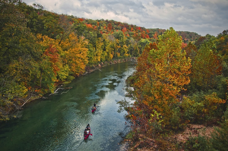 'Fall Float' ~ Current River, Missouri