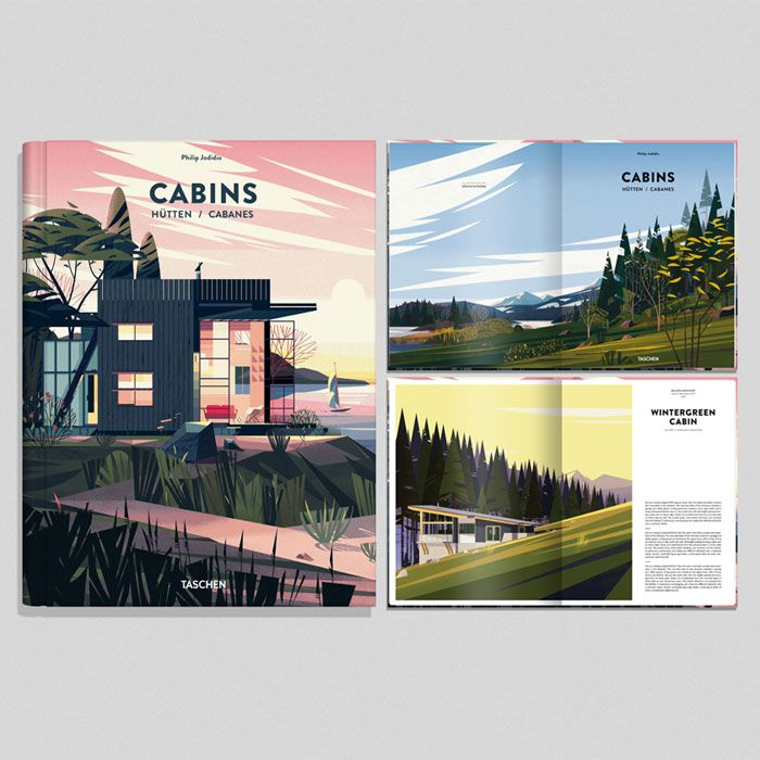 CABINS BOOK Illustrations by CRUSCHIFORM