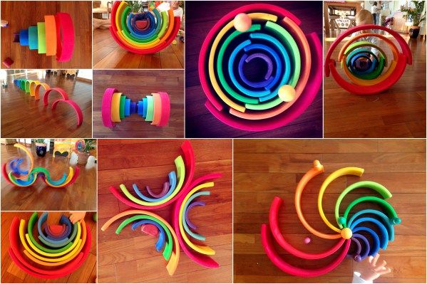 grimm's rainbow arc en ciel grimms jeu en bois (4)