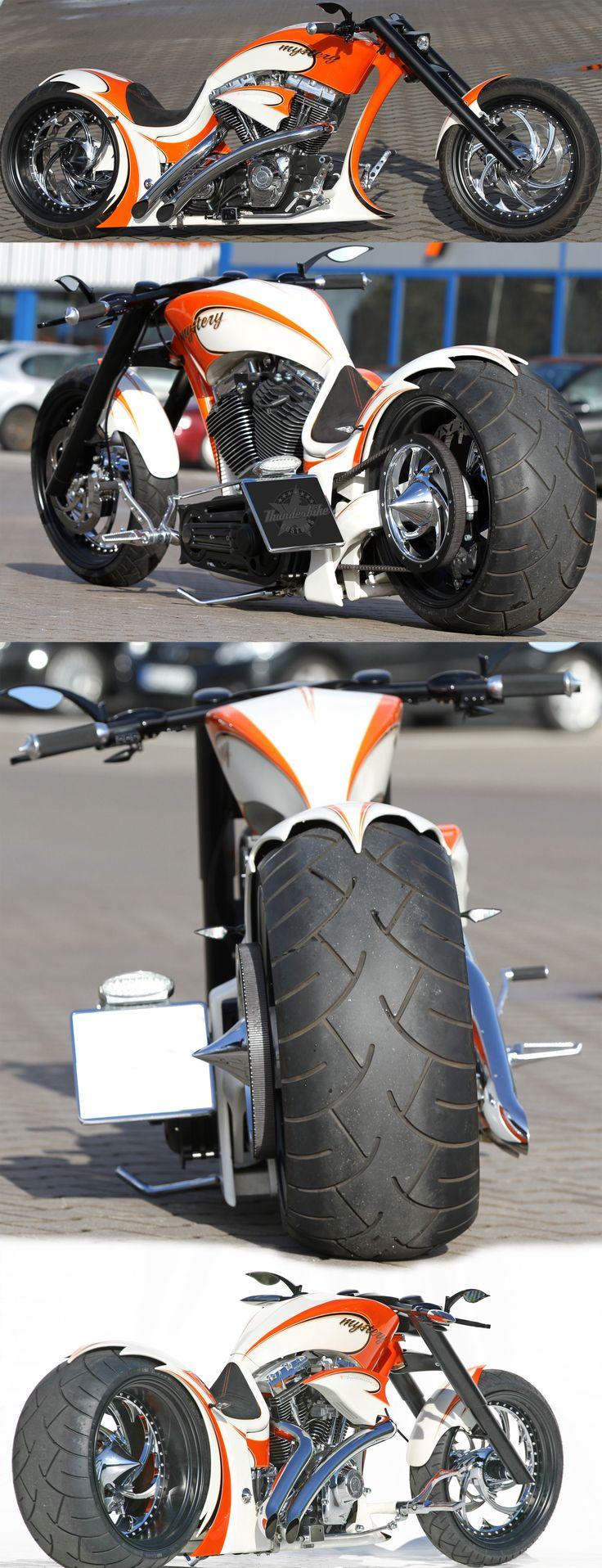 Thunderbike Mystery custombike with Harley-Davidson Engine