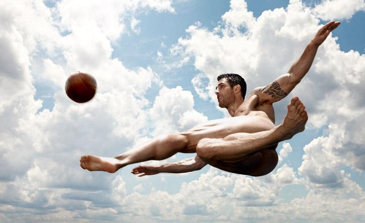 Carlos Bocanegra,  ESPN The Body Issue.