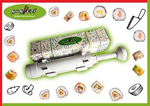 Sushezi - perfect sushi - Appareil à sushis et makis à piston Hydraflow Industries http://www.amazon.fr/dp/B002AVYQNY/ref=cm_sw_r_pi_dp_nnADwb13EY3AN
