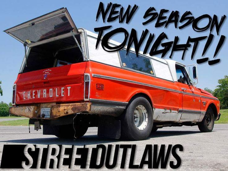 New Episode of Street Outlaws Tonight!!