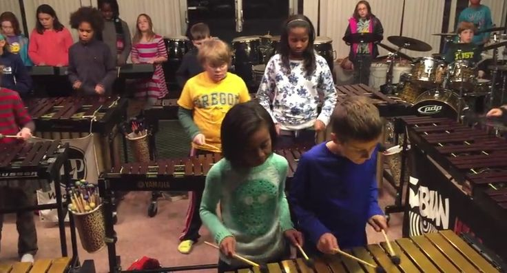 These kids play Led Zeppelin onthe xylophone. And it's like nothing we've ever heard before!