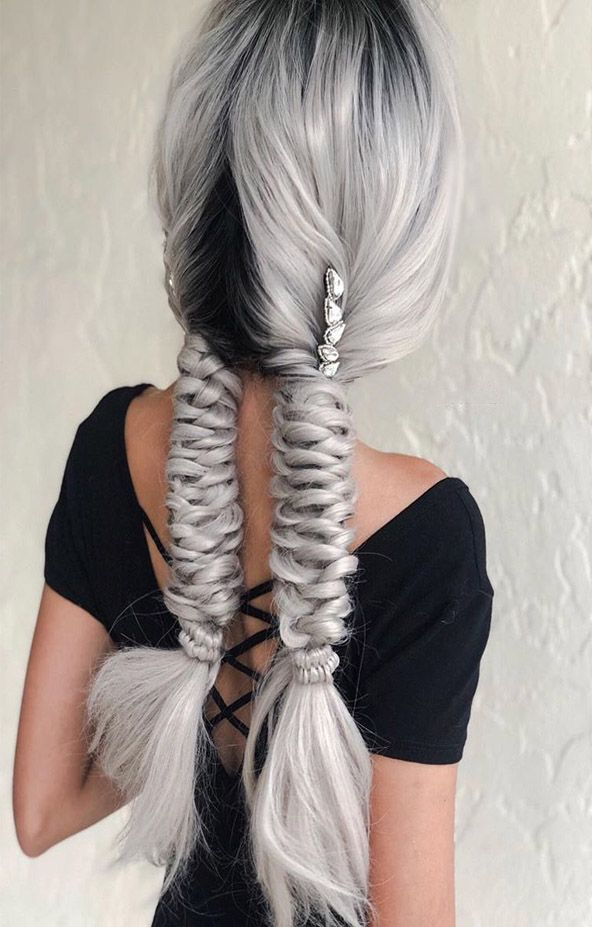 Gorgeous Pigtails Hairstyles Ideas 2019 Pigtail Hairstyles Braided Hairstyles Hair Styles