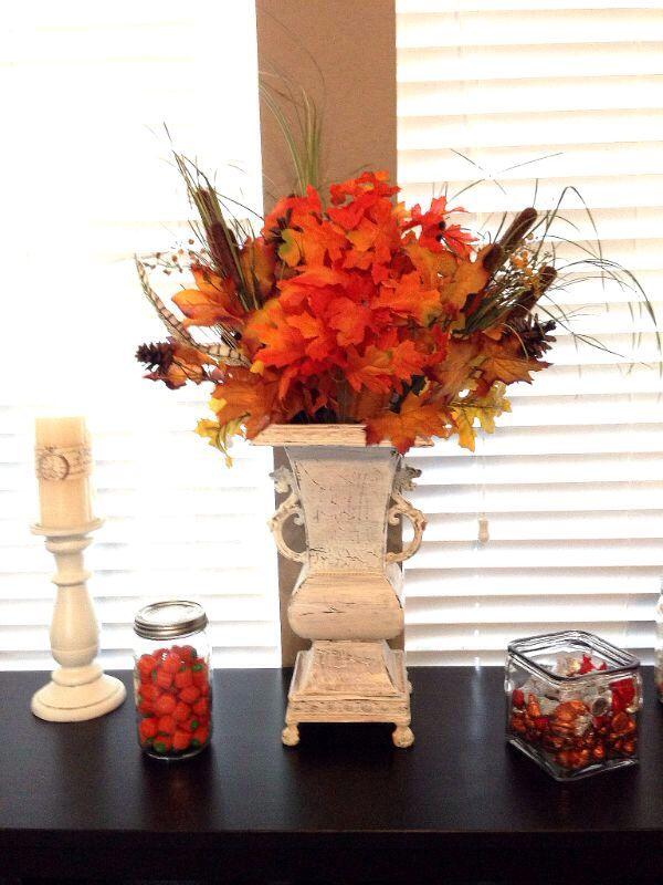 Fall Flower Arrangement Fall Ideas Pinterest