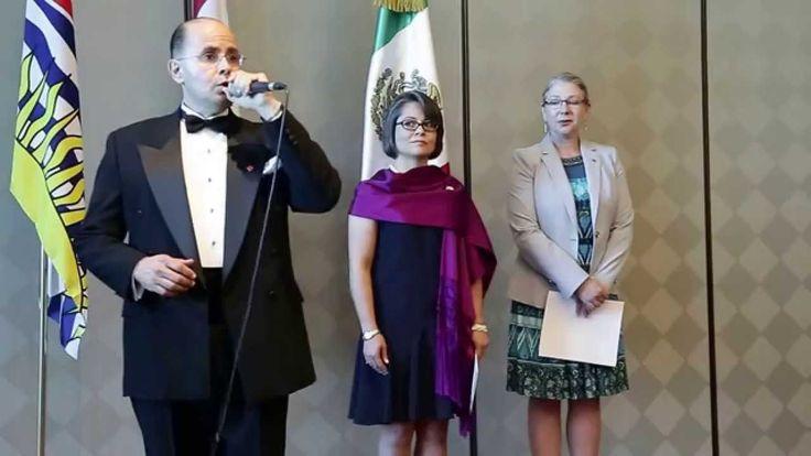 O Canada by Mexican Cadanian Tenor  Gustavo Herrera