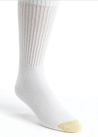 Men's Gold Toe Socks as low as $1.34/pair after coupon code  + FREE Shipping w/ ShopRunner!