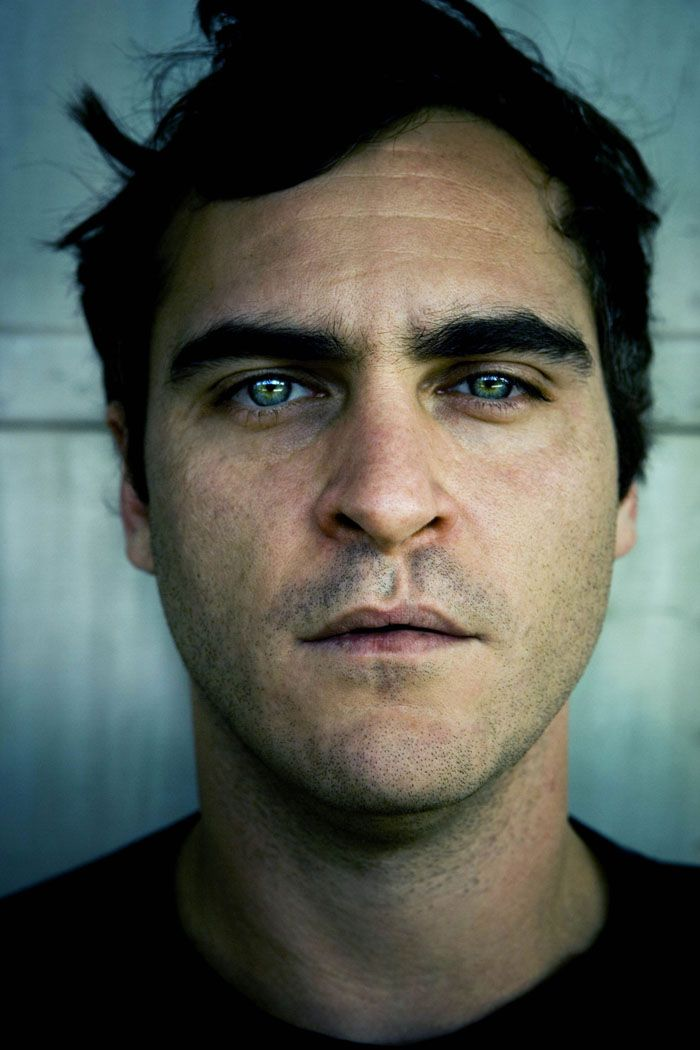 Joaquin Phoenix - one of the most beautiful men I have ever seen in my life.  Hands down.