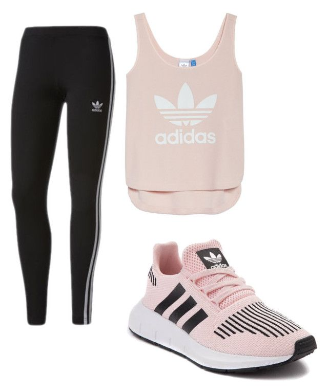 """""""Workout"""" by ellag130 on Polyvore featuring adidas"""