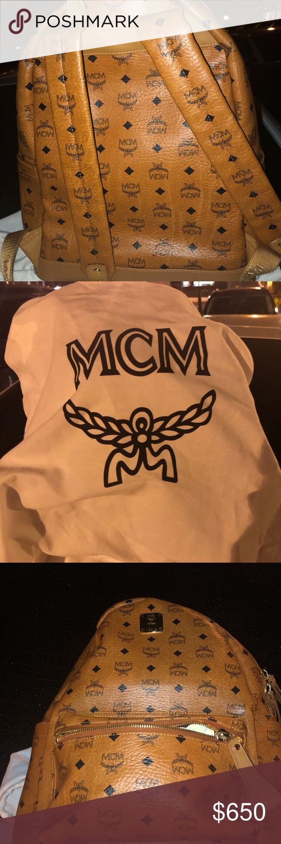 Medium sized MCM backpack . Great condition, willing to negotiate price MCM Bags Backpacks