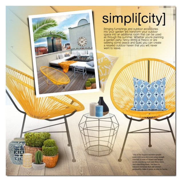 simpli[city] by justlovedesign on Polyvore featuring interior, interiors, interior design, home, home decor, interior decorating, Tommy Bahama, Tory Burch, Bloomingville and Pier 1 Imports